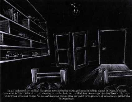 Luz tras la puerta